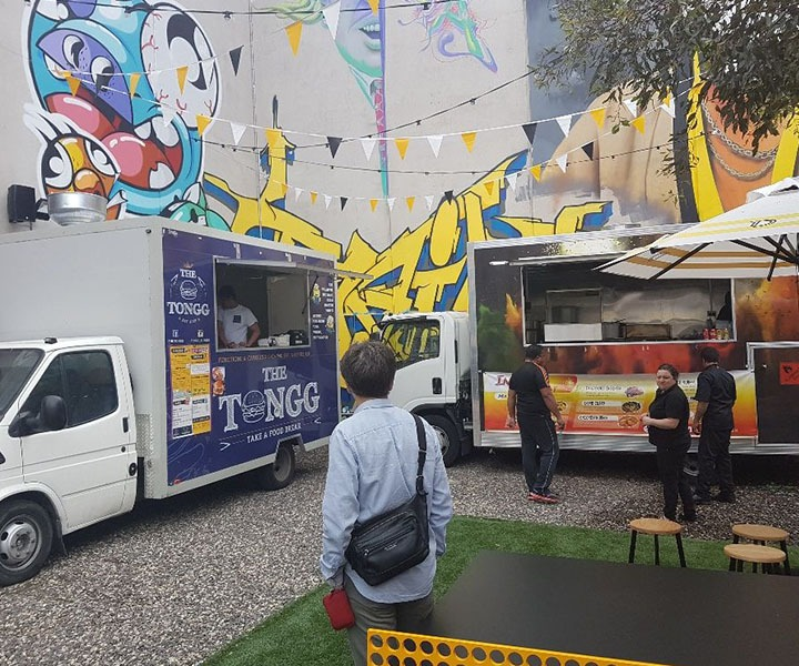 The Food Truck Park's Summer Residency comes to The District Docklands